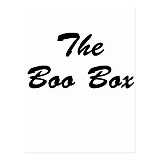 La caja del abucheo postal