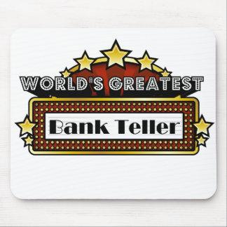 La caja del banco más grande del mundo mouse pads