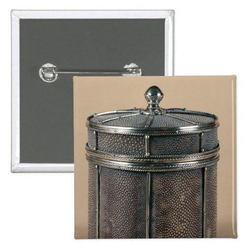 La caja del cigarrillo con shagreen los lados, 192 pins