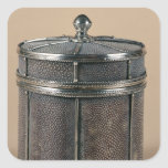 La caja del cigarrillo con shagreen los lados, colcomanias cuadradas