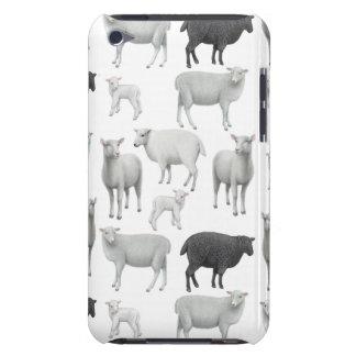 La caja del tacto de iPod de las ovejas negras Carcasa Para iPod