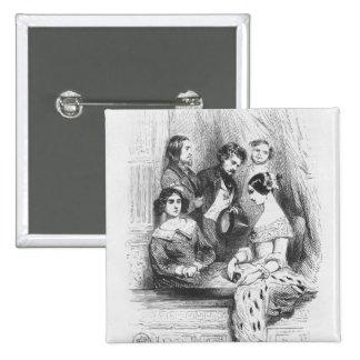 La caja del teatro de primeros ministros Gentilhom Pin Cuadrado