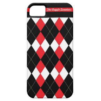 La caja del teléfono de los suéteres de Argyle (5) iPhone 5 Carcasas
