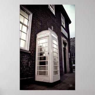 La caja del teléfono [impresión] impresiones