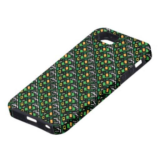 la caja enrrollada verde 70s retra busca el iPhone iPhone 5 Carcasas