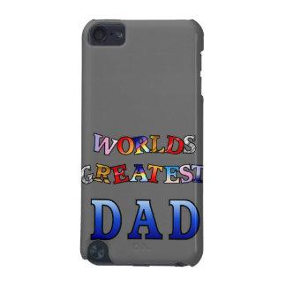 La caja más grande de la mota del papá de los mund funda para iPod touch 5G