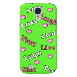 """La caja personalizada del iPhone """"vive amor de la"""