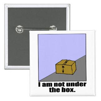 La caja pin cuadrada 5 cm