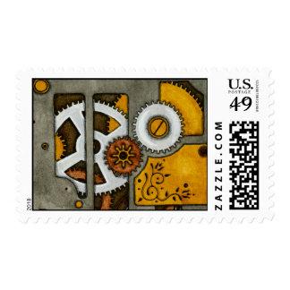 La caja timbres postales