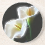 La cala elegante florece 13 modernos posavaso para bebida