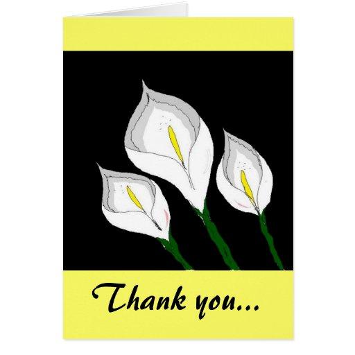 La cala le agradece tarjeta de felicitación