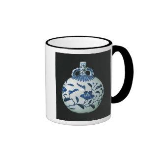 """La calabaza """"azul y blanca"""" del peregrino con taza de dos colores"""