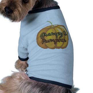 La calabaza de Grampy Camisas De Perritos