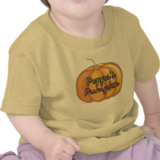 La calabaza del Poppa Camisetas