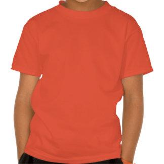 La calabaza feliz embroma la camiseta poleras