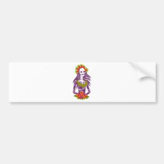 La Calavera Catrina/Dapper Skeleton/'Elegant Skull Bumper Stickers