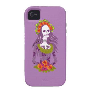La Calavera Catrina/Dapper Skeleton/'Elegant Skull iPhone 4/4S Cases