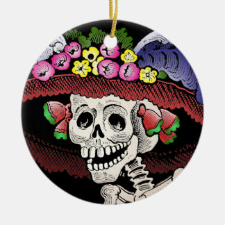 La Calavera Catrina [ornamento] Ornamentos De Reyes