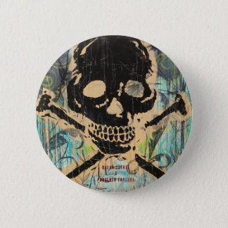 La Calavera Pinback Button
