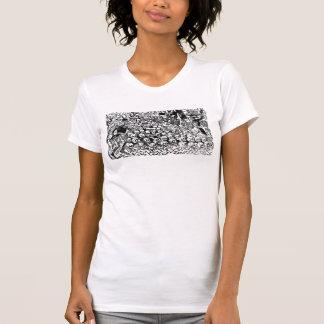 La Calavera Revuelta by José Guadalupe Posada T-shirt