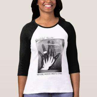 La calidad daña la camiseta, para mujer