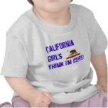 la California-estado-bandera, chicas de California Camiseta
