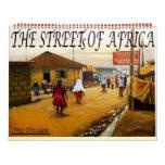 LA CALLE DE ÁFRICA, RECEPCIÓN A LAGOS NIGERIA, CALENDARIOS