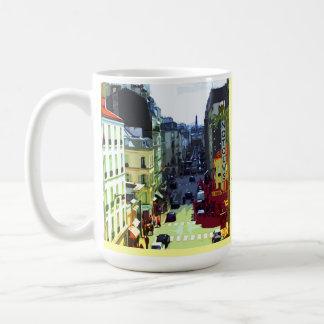 La calle de París, Francia, el mejor hábito es Taza De Café