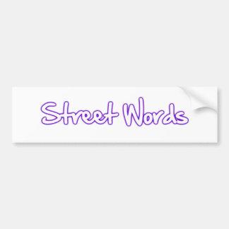 La calle redacta al funcionario etiqueta de parachoque