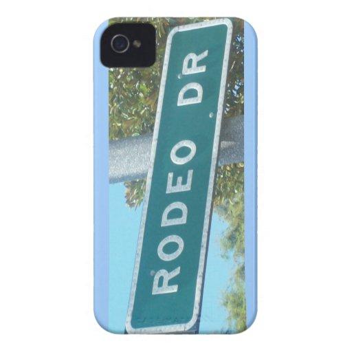 La calle rica iPhone 4 Case-Mate carcasa