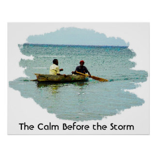 La calma antes de la tormenta impresiones