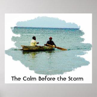 La calma antes de la tormenta (revisada) poster