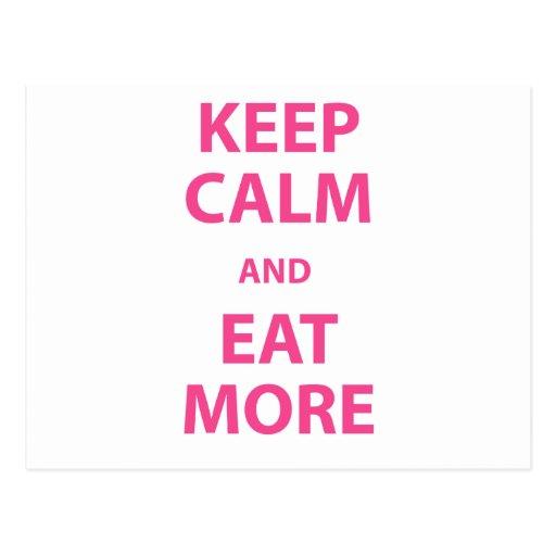 ¡La calma de Kepp y come más! Postales