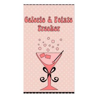 La caloría personal de la tarjeta Perseguidor-ve d Tarjetas De Negocios