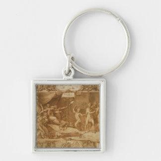 La calumnia de Apelles, 1572 Llaveros Personalizados