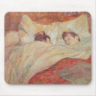 La cama, c.1892-95 mousepad