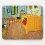 La cama de Van Gogh Tapete De Raton