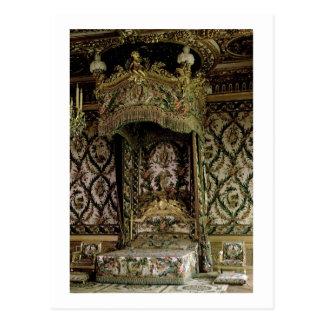 La cama real, probablemente del siglo XVIII (foto) Postales