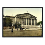 La cámara de diputados, vintage Pho de París, Fran Postales