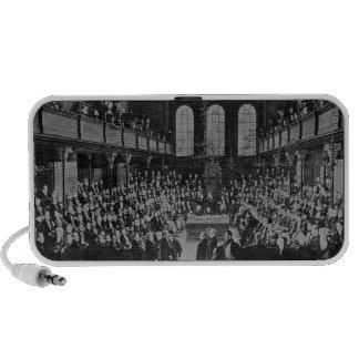 La Cámara de los Comunes, 1833 iPhone Altavoz