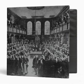 """La Cámara de los Comunes, 1833 Carpeta 1 1/2"""""""