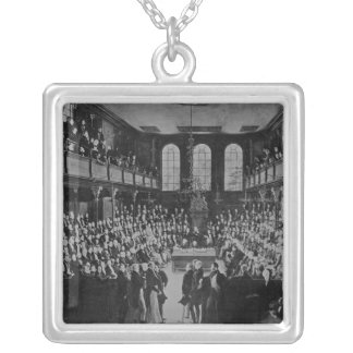 La Cámara de los Comunes, 1833 Collar Plateado
