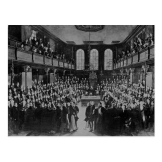 La Cámara de los Comunes, 1833 Postales
