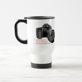 La cámara de Pachelbel Taza De Viaje De Acero Inoxidable