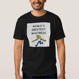 la camarera más grande del mundo camisas