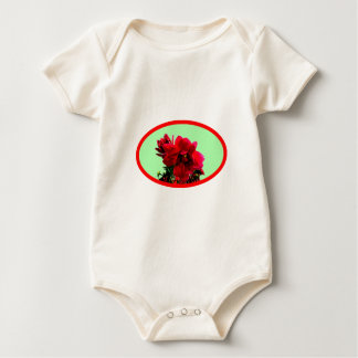 La camelia BG pone verde los regalos de Zazzle del Trajes De Bebé