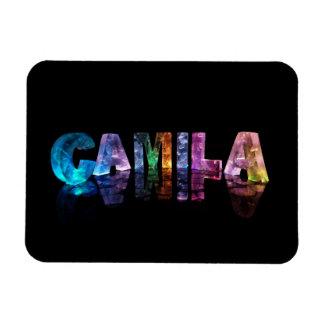 La Camila conocida en las luces 3D Imanes Flexibles