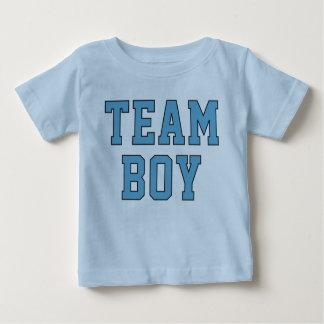 La camisa azul del niño del niño del bebé el | del