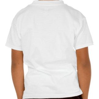 La camisa blanca del campanero del niño de Parrotl