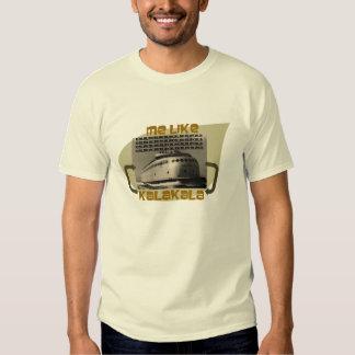 ¡La camisa de Kalakala! Transbordador del estado